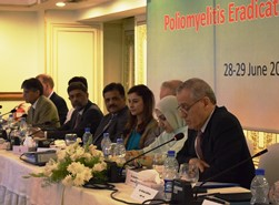 WHO Regional Director for the Eastern Mediterranean addresses TAG meeting in Pakistan