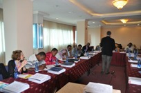 Training workshop on mhGAP intervention guide in Somalia