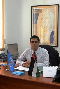 Dr M Daher, acting WHO Representative for occupied Palestinian territory