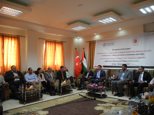 Turkey supports emergency needs in Gaza for fuel and medicines for health facilities