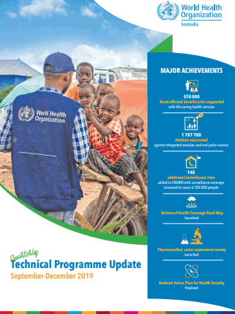 Quarterly technical programme update