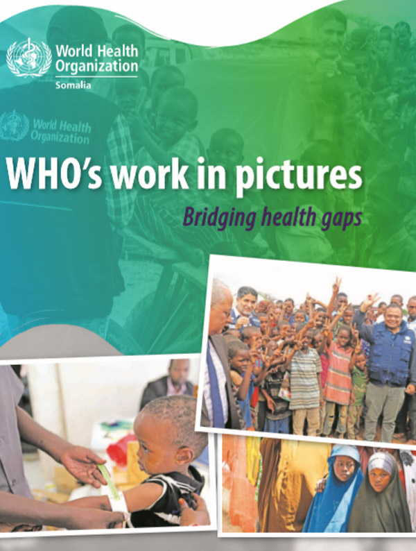 WHO's work in pictures - bridging the health gaps