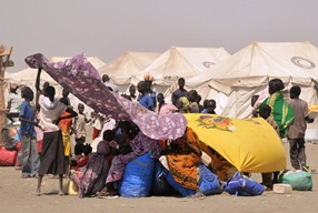 A large number of people from Upper Nile in South Sudan moved to White Nile in Sudan to escape the impact of the conflict in South Sudan.