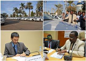 WHO hands over 68 vehicles to Sudan