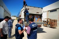 WHO delivers urgent medicines and medical supplies to the coastal city of Lattakia