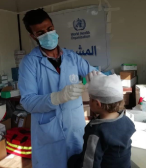 a_who_supported_medical_team_provides_trauma_care_services_to_injured_children_in_al_hol_camp