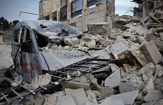 Attacks on health facilities in Syria