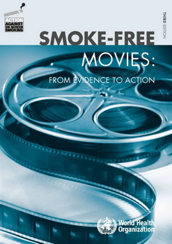 Image shows cover of publication entitled Smoke-free movies: From evidence to action: Third edition.