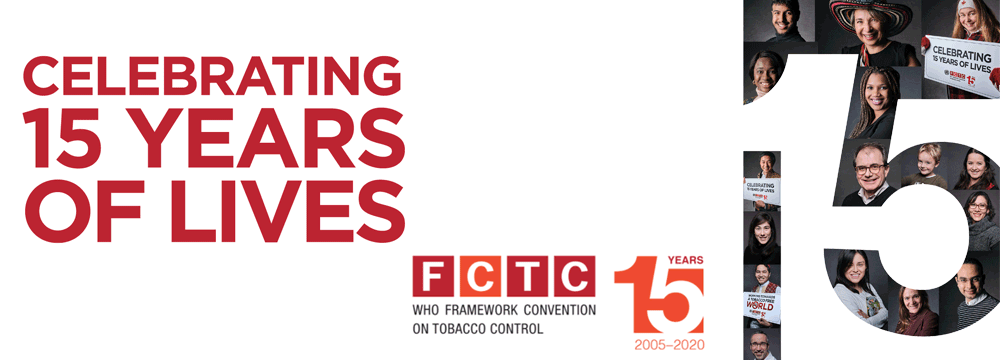 WHO FCTC: 15 years protecting and saving lives