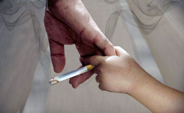 Second-hand smoke impacts health