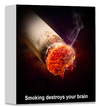 Smoking destroys your brain