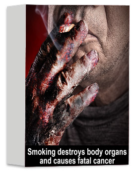 Smoking is highly addictive Don't start