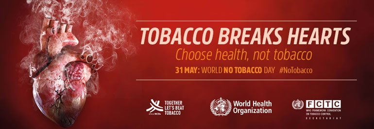 World No Tobacco Day 2018 - Tobacco and heart disease