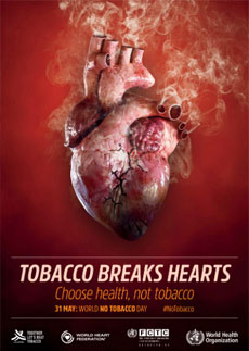World No Tobacco Day 2018 - English poster