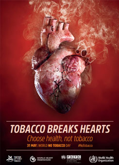 World No Tobacco Day 2018: Tobacco breaks hearts
