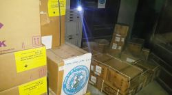 Emergency medical supplies delivered to Al Thawra hospital and Bajel renal dialysis centre in Hodeida governorate