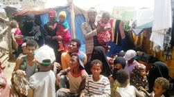 Internally displaced persons in Raida district of Amran