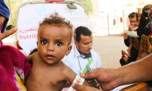 In Yemen more than 1 million children under the age of 5 are acutely malnourished and almost 2860 000 severly malnourished