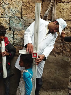 The need to improve the nutritional status of the population, particularly children under 5 has become increasingly desperate in Yemen