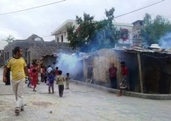 WHO continues to support outdoor fogging spraying campaign as a control____
