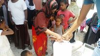 WHO distributes jerry cans for IDPs in Abyan1