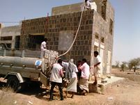WHO provides water trucking to Abs district of Hajja governorate