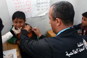 Diphtheria vaccination campaign for 2.7 million children concludes in Yemen