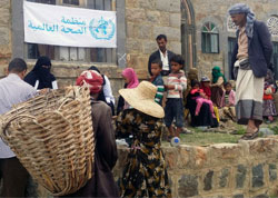 A WHO‐supported mobile medical team provides basic health services in Al‐Sarari village, Taiz governorate