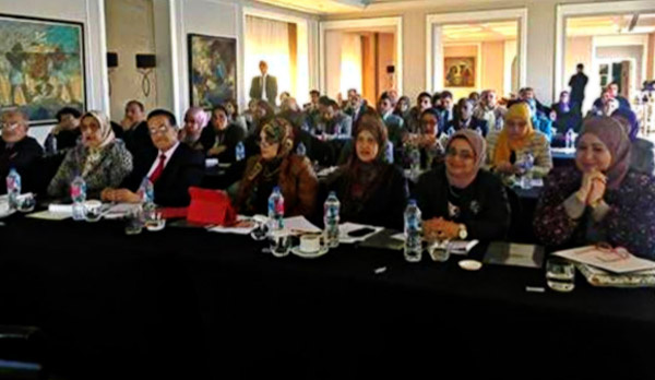 Supporting WHO collaborating centres in Egypt